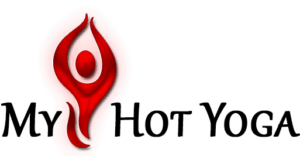 my hot yoga logo